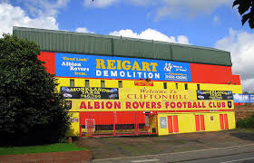 Cliftonhill - Home of the Big Rovers