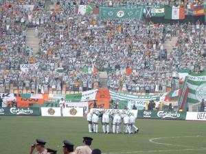 Fans in Seville